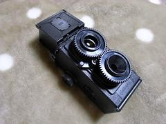 二眼レフカメラ完成。