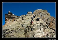 Ad un passo dal sogno (Momenti di Montagna) Tags: via alpinismo roccia orobie bergamo settembre montagna lombardia 2010 liscia baroni placca valseriana lucavezzoni piodessa puntadiscais