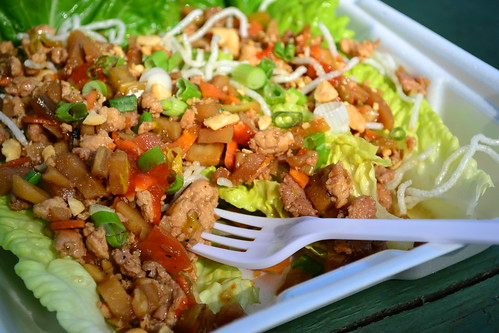 Thai Cabin Lettuce Wraps