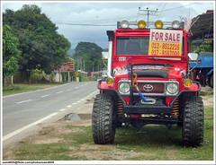 Toyota Landcruiser BJ43 (sam4605) Tags: 4x4 extreme samsung 4wd malaysia borneo toyota centipede landcruiser sabah j4 trekker lipan tamparuli s760 simex sabahborneo bj43 kfwdc