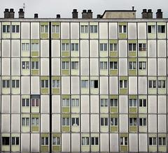 Paris, France, 11:31 (Christiaan Triebert) Tags: architecture flat 80s suburbs suburb outskirts flatbuilding