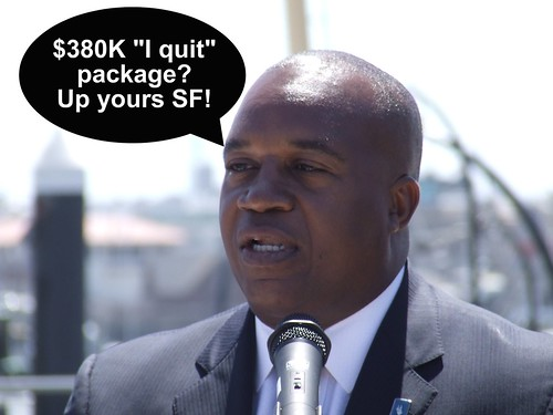 (Parody Photo) Nat Ford, CEO SFMTA