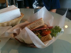 Best Sandwhiches in Vancouver (erudianart) Tags: vancouver sandwhich gastown salami mcleans