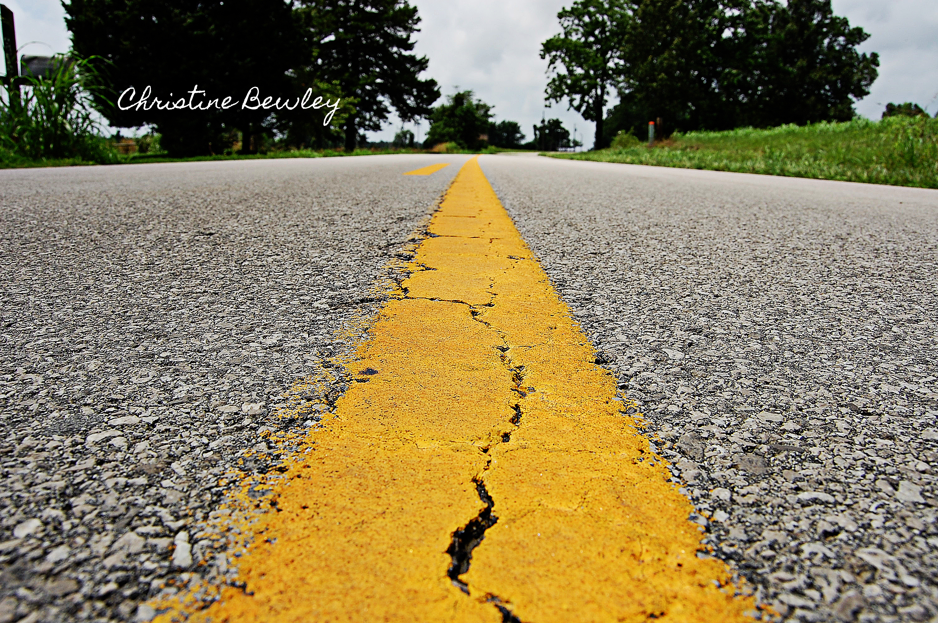 The Yellow Striped Road