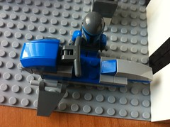 300 Subscribers and 500 Friends Droid Base (Legostarwars4ever) Tags: star friend lego wars 300 500 clone base barc droid speeder subscriber
