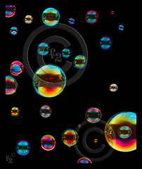 Bubbles, Bubbles, Bubbles (F-2) Tags: light digital photoshop canon studio bravo niceshot colours searchthebest flash bubbles tent 5d dslr lighttent 580ex manfrotto onblack cubism fpc 333views blueribbonwinner vob 100faves outstandingshots fineartphotos golddragon abigfave platinumphoto anawesomeshot impressedbeauty superaplus aplusphoto ultimateshot photoshopcs3 flickrenvy diamondclassphotographer flickrdiamond megashot bratanesque citrit amazingamateur theunforgettablepictures 75faves brillianteyejewel eliteimages overtheexcellence platinumheartaward artlegacy flickrslegend betterthangood theperfectphotographer goldstaraward 055cb professionaltripod