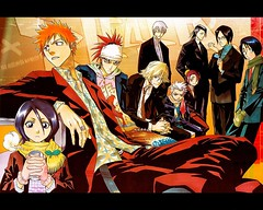 bleach_by_Thug_Wolf (lordismyrock21 - Alex - PFCSparkster) Tags: anime chad bleach rukia sado ichigo kon inoue kenpachi renji toshiro shinigami rangiku zanpaktou gotei