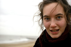 Eleanor On Southwold Beach