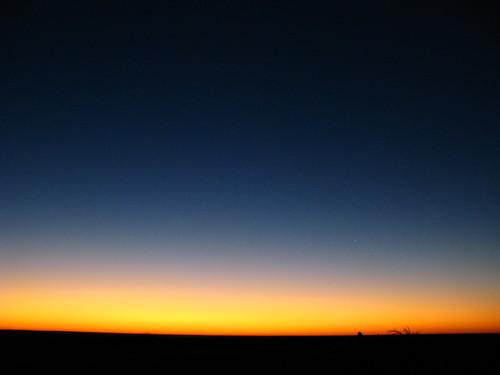 Sunrise near Dryden, Texas, USA