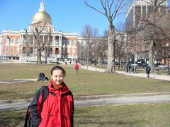 in front of the State House (Sabiy Qnzyat) Tags: boston bostoncommon bostonstatehouse