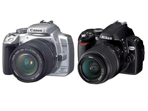 Canon EOS 400D Vs Nikon D40X