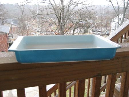 Pyrex Blue Lasagna Dish