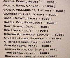 Víctimes Bombardejos Barcelona 1938