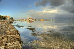 A Colorful Day at the Beach (RussHeath) Tags: color island nikon raw belize tropical ambergriscaye hdr 3x nikon18200 d80 3exposure