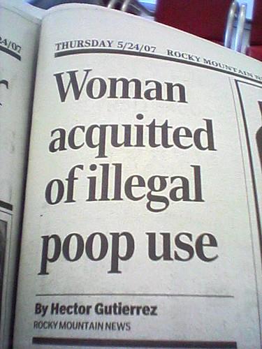 Poop Use