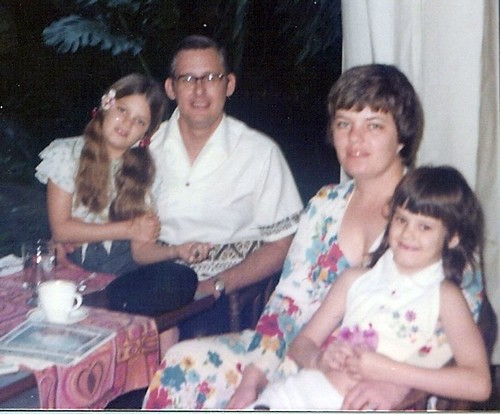 my family on a trip to Hawaii in 1976