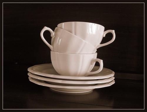indai, puodeliai