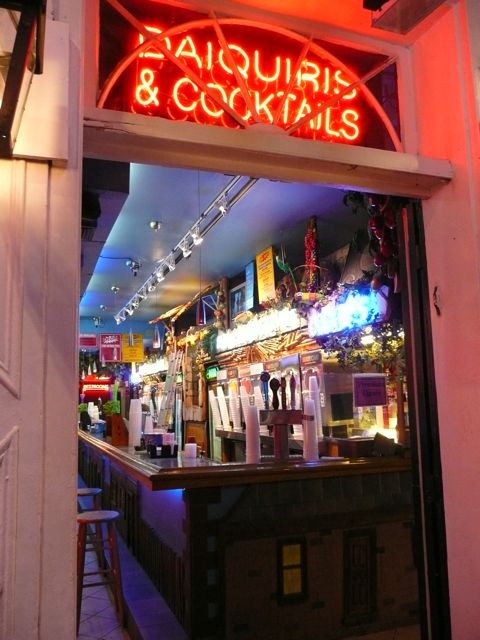Daiquiris and cocktails
