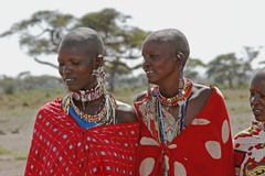 Ladies of the MAASAI (Picture Taker 2) Tags: africa nature beautiful closeup outdoors colorful pretty native mothers curious upclose maasaipeople ambosli