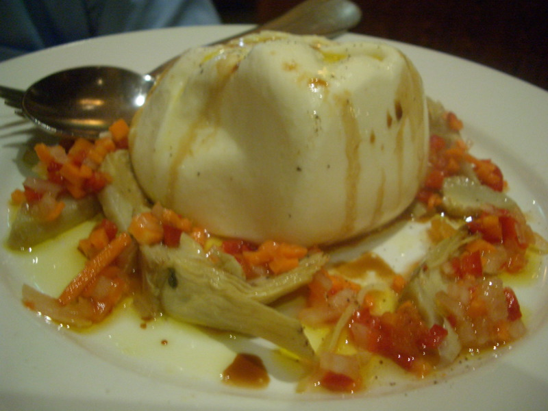 Stuffed mozzarella Burrata