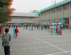 Primary school-Tehran_Anaglyph 3D : You need Red/Cyan glasses (Shahrokh Dabiri) Tags: school boys kids persian 3d iran anaglyph stereo iranian tehran depth primary stereography shahrokh dabiri