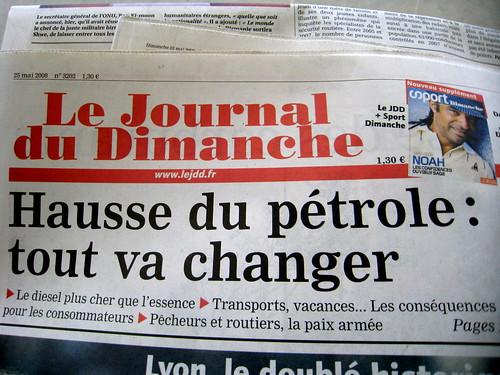 Hausse du pétrole: tout va changer