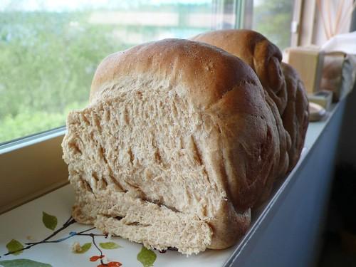 毫無賣相的全麥麵包