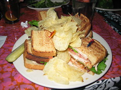 Turkey Club at Cafe Hon