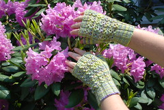 Cloverleaf Lace Mitts
