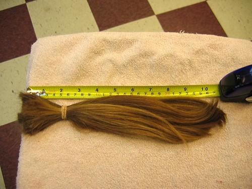 long hair gone
