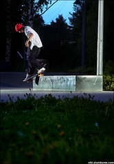 Samu - Bs smith (nigson) Tags: ebay skateboarding pentax bs smith skate backside samu sk8 135mm lohikoski