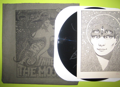 vinyl record print