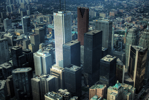 Toronto Skyline HDR