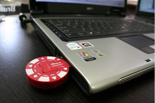 Poker Chip USB Flash Drive