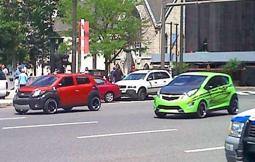 Mudflap y Skids Transformers 2: modo euro-autos