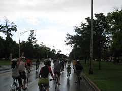 After the rain (silverfuture) Tags: chicago beer bikes bicycles logansquare newbelgium tourdefat palmersquare