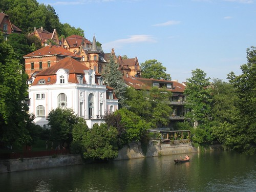 Houses on the Neckar