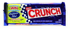 2007 Crunch Bar Wrapper