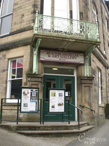 山上的 Buxton Museum and Art Gallery