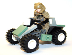 "M247 ""Mongoose"" (Chase Lewis [Vid]) Tags: 3 brick car marine lego halo vehicle atv minifig mongoose warthog halo3 unsc foitsop"