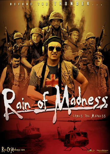 a rain of madness poster