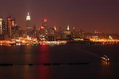 Call it a night (pmarella) Tags: city nyc newyorkcity sky urban usa newyork color building water skyline night reflections river landscape lights cityscape manhattan silhouettes 5d whatever viewlarge pmarella hudsonriver empirestatebuilding lamplight donttrythisathome whileyouweresleeping eos5d dancinginthedark throughmyglasseye ef70200mmf4lusm riverviewpkproductions wanderingatnight myeyeshaveseenthis