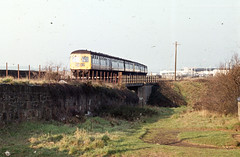 Unidentified class 126, Prestwick, mid 70s.  I. Middleditch collection