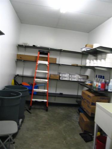 Biotech Center Janitor Closet