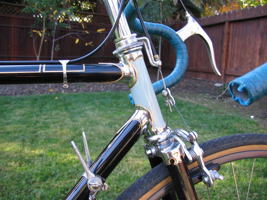 French custom road bike