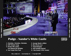 """Nandor's White Castle"" Tray"