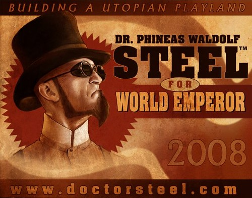 Dr. Steel For World Emperor