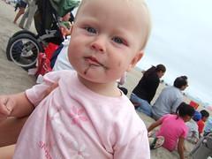 Sofia Eats Sand