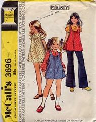 mccalls 3696 (elle_grrrl) Tags: vintage patterns mccalls