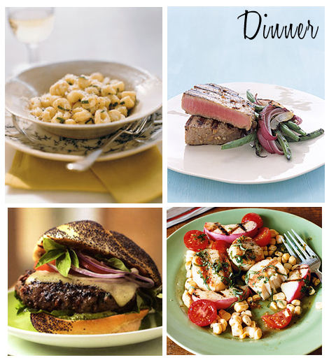 Delicious Delightful Dinner Suggestions